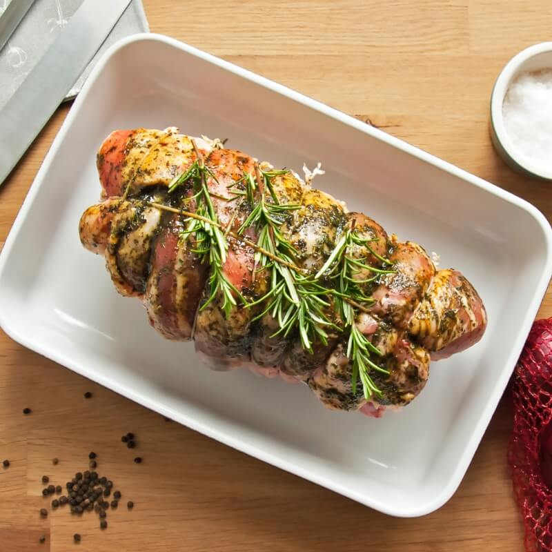 A delightful meatloaf ready to be shared
